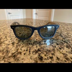 Ray Ban Wayfarer Denim Sunglasses